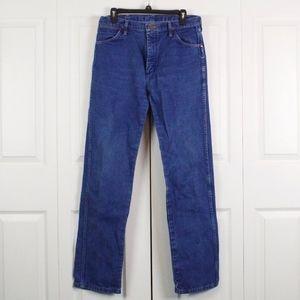 Wrangler Bootcut Jeans Size 32 X 34 Dark Wash